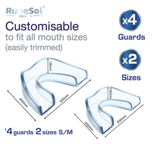 Dental Protectors (4 Pack) Mouldable Mouthguard's