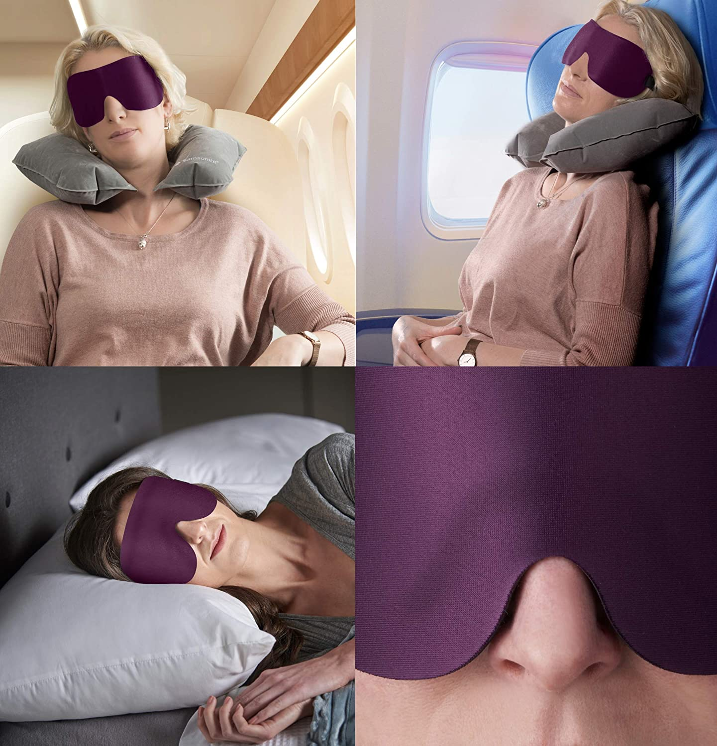 Sleep Mask Lightweight & Comfortable Eye Mask Fully Contoured
