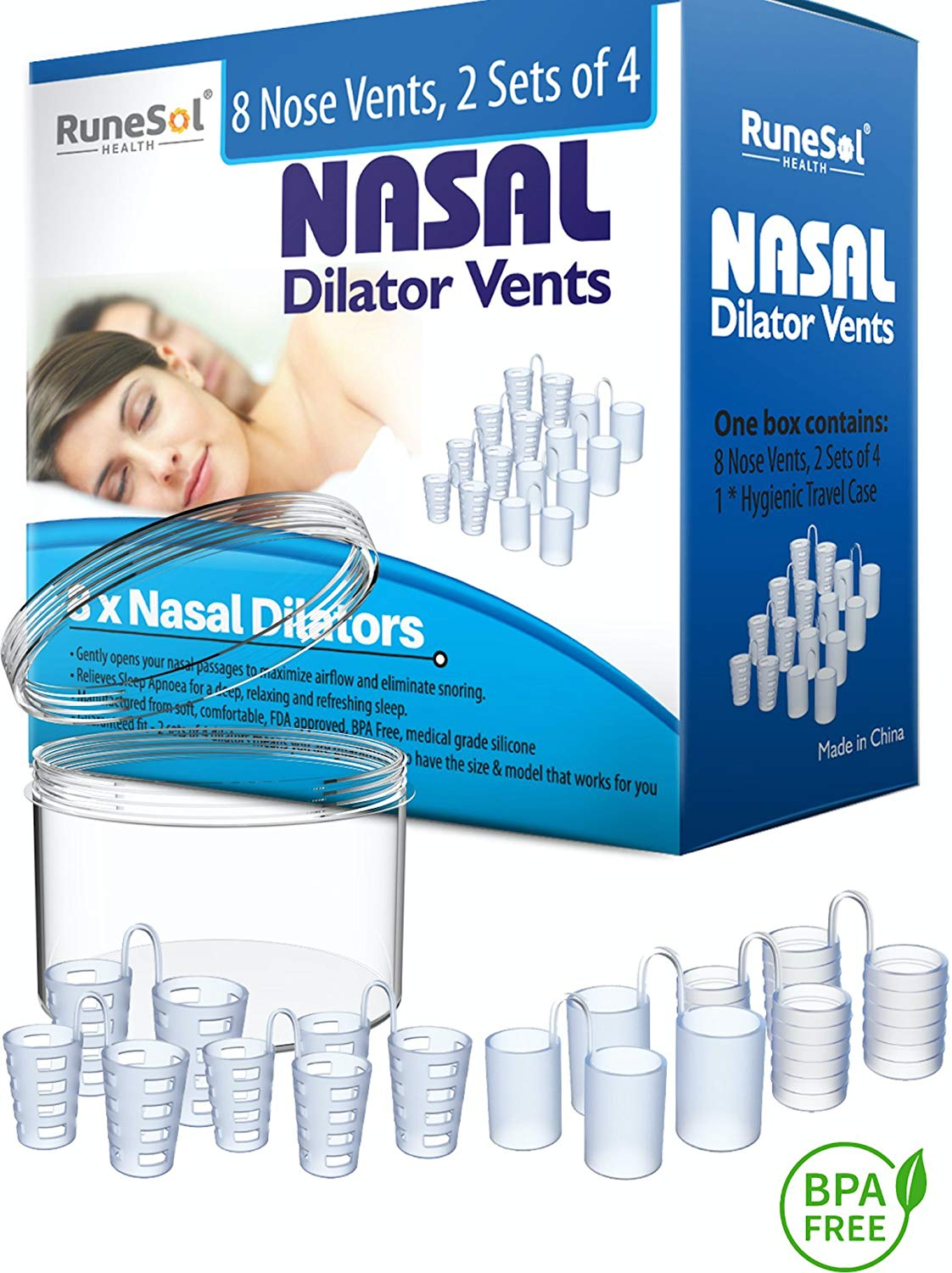 Anti Snoring Devices - Nasal Dilator (8) Stop snoring Aids