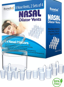 Anti Snoring Devices (8 Pack) Nasal Dilator