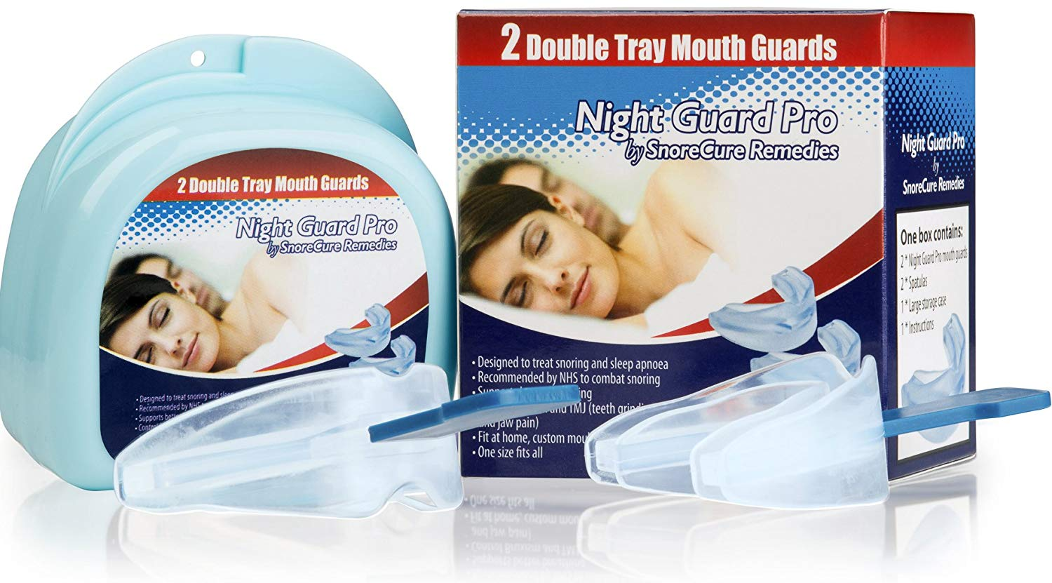 Mouth Guard (2 Pack) Teeth Grinding