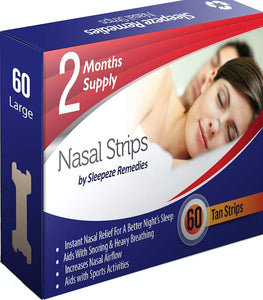 Nasal Strips, Large 60 Pack