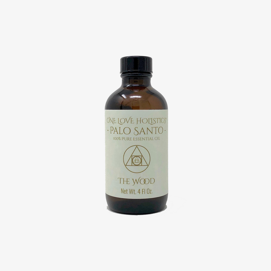 Palo Santo Essential Oil: 4 oz