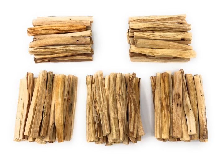 Bulk Palo Santo Sticks: 100 Pieces Ecuadorian