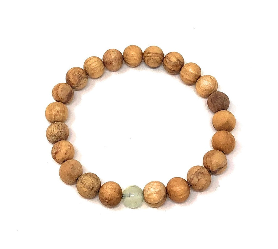 Palo Santo Bracelet: Prehnite The One