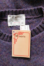 Load image into Gallery viewer, 1970s Wool Sweater Purple Large Deadstock