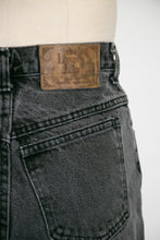 "Load image into Gallery viewer, 1990s JEANS Cotton Denim Black Faded 28"" x 31"""