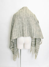 Load image into Gallery viewer, 1960s Mohair Wool Oversized Knit Shawl Wrap Scarf