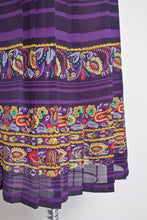Load image into Gallery viewer, 1950s Skirt Chiffon Novelty Print Small Sale