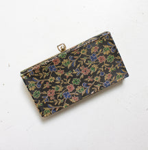 Load image into Gallery viewer, 1960s Purse Metallic Brocade Clutch Evening Bag