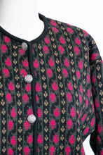 Load image into Gallery viewer, 1950s Cardigan Sweater Bavarian Wool Knit 40s M