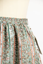 Load image into Gallery viewer, Vintage 1970s Full Skirt Printed Deadstock Volup XXL 70s