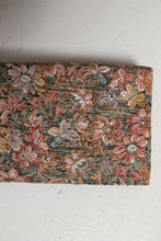 Load image into Gallery viewer, 1960s Purse Metallic Brocade Clutch Evening Bag Floral 60s