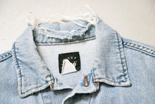 Load image into Gallery viewer, 1990s Denim Jacket Lee Blue Cotton Medium