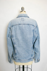 1990s Denim Jacket Lee Blue Cotton Medium