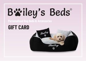 Bailey's Beds Personalised Dog Beds & Accessories Gift Card