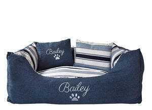 Personalised Monogrammed Dog Bed