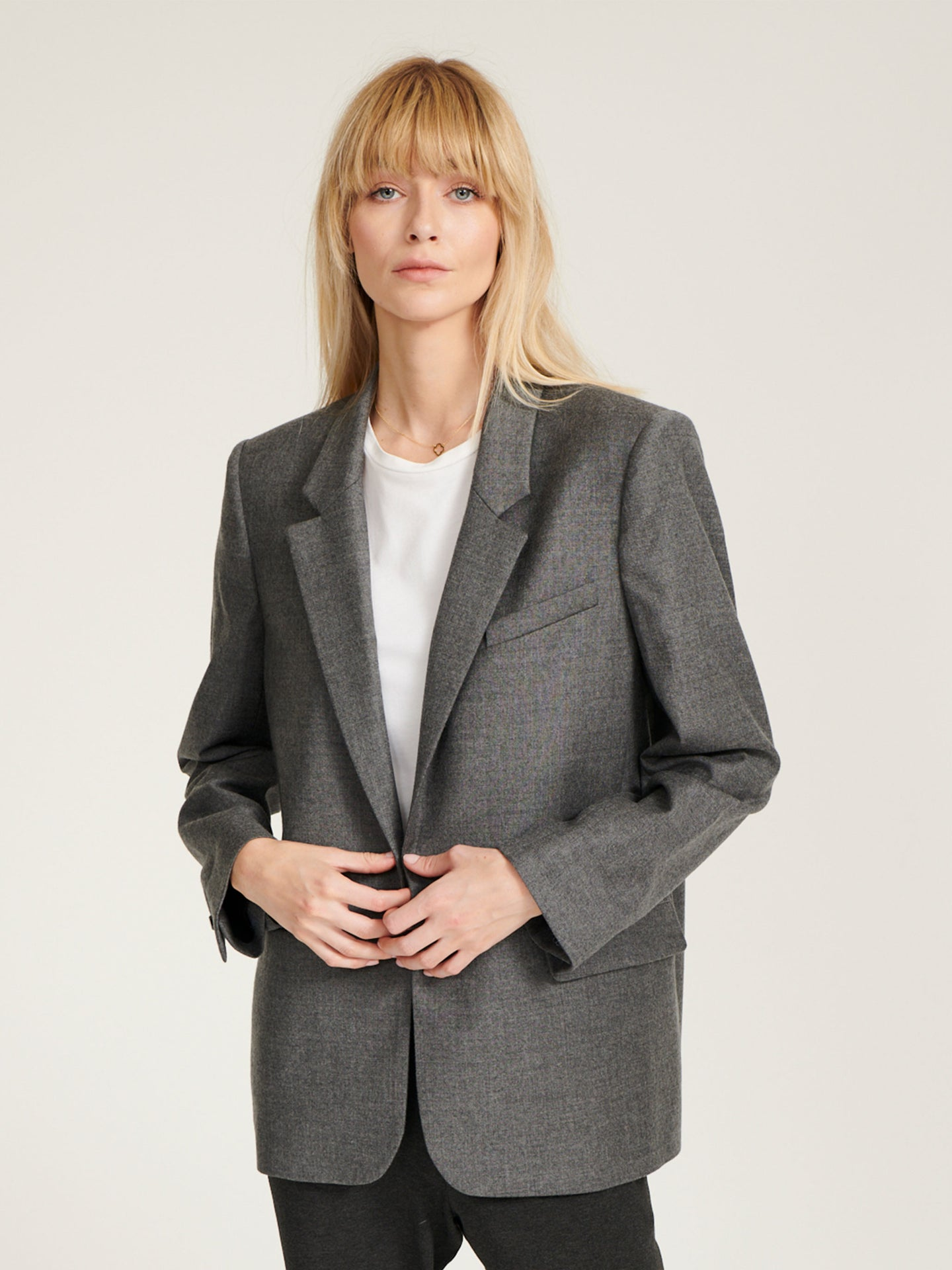 Jackie fine wool jacket