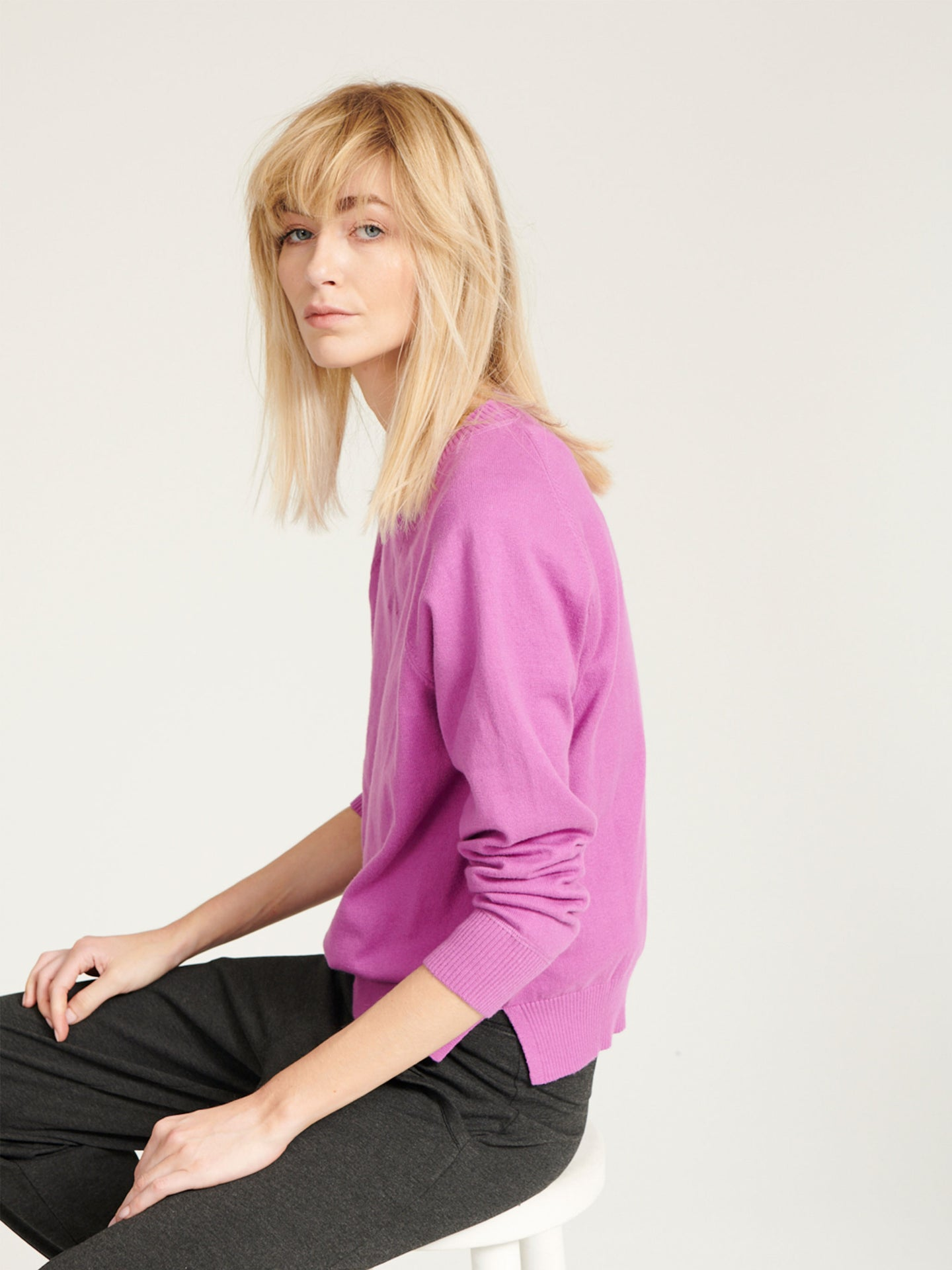 Suki cotton cashmere sweater