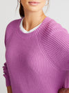 Annie cotton crew neck sweater