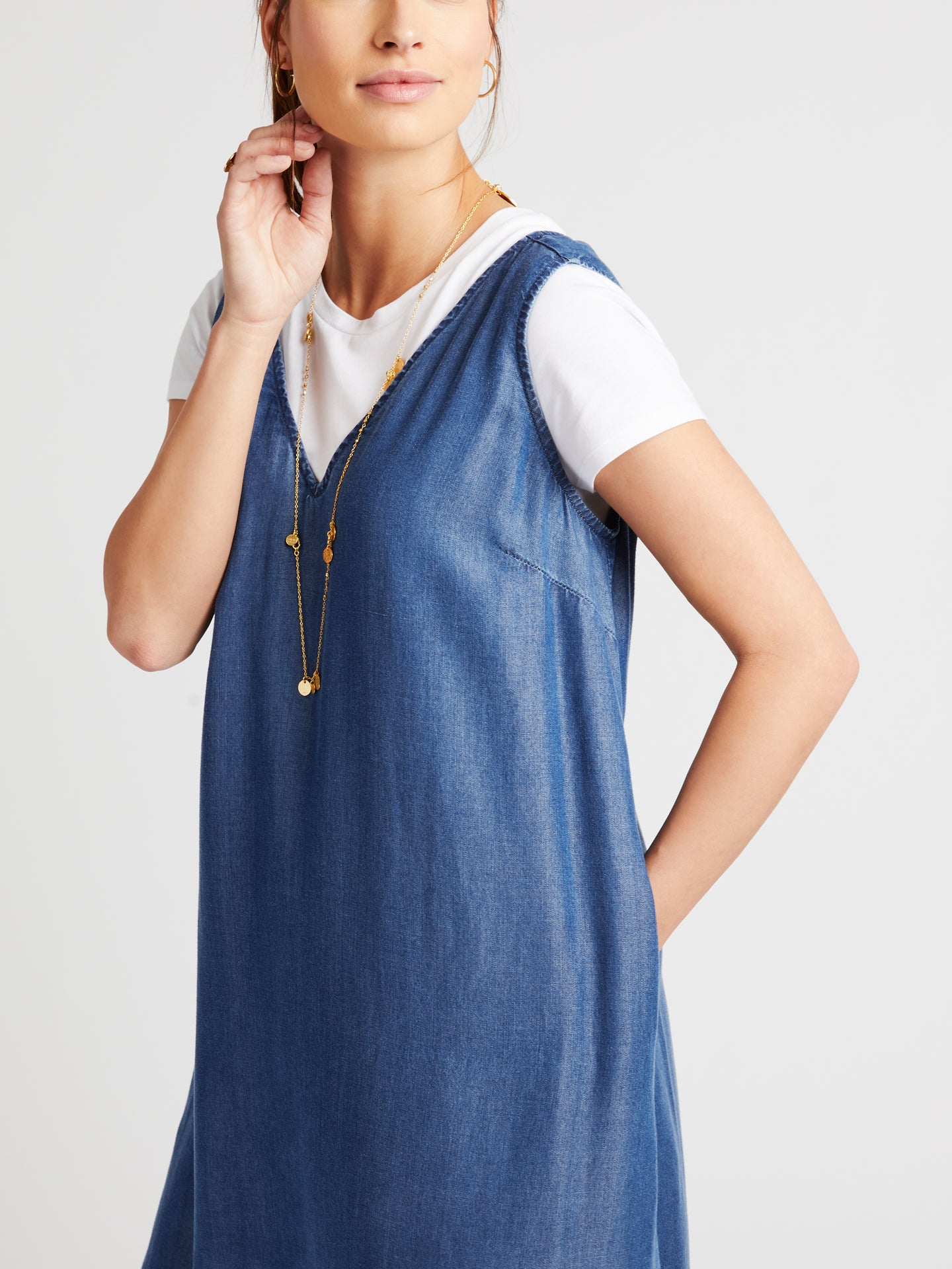 Frieda lyocell slip dress