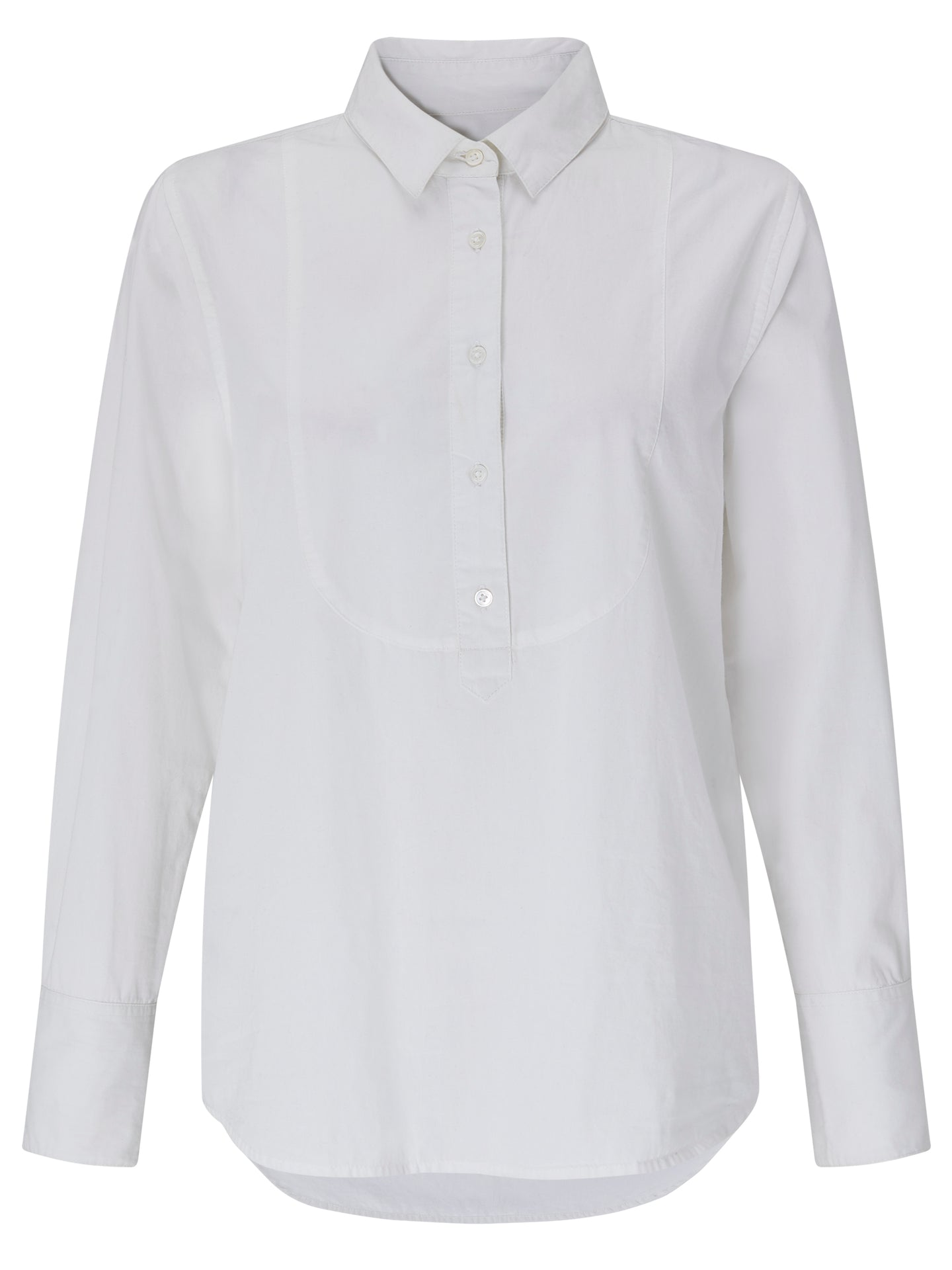 Lauren cotton bib front shirt