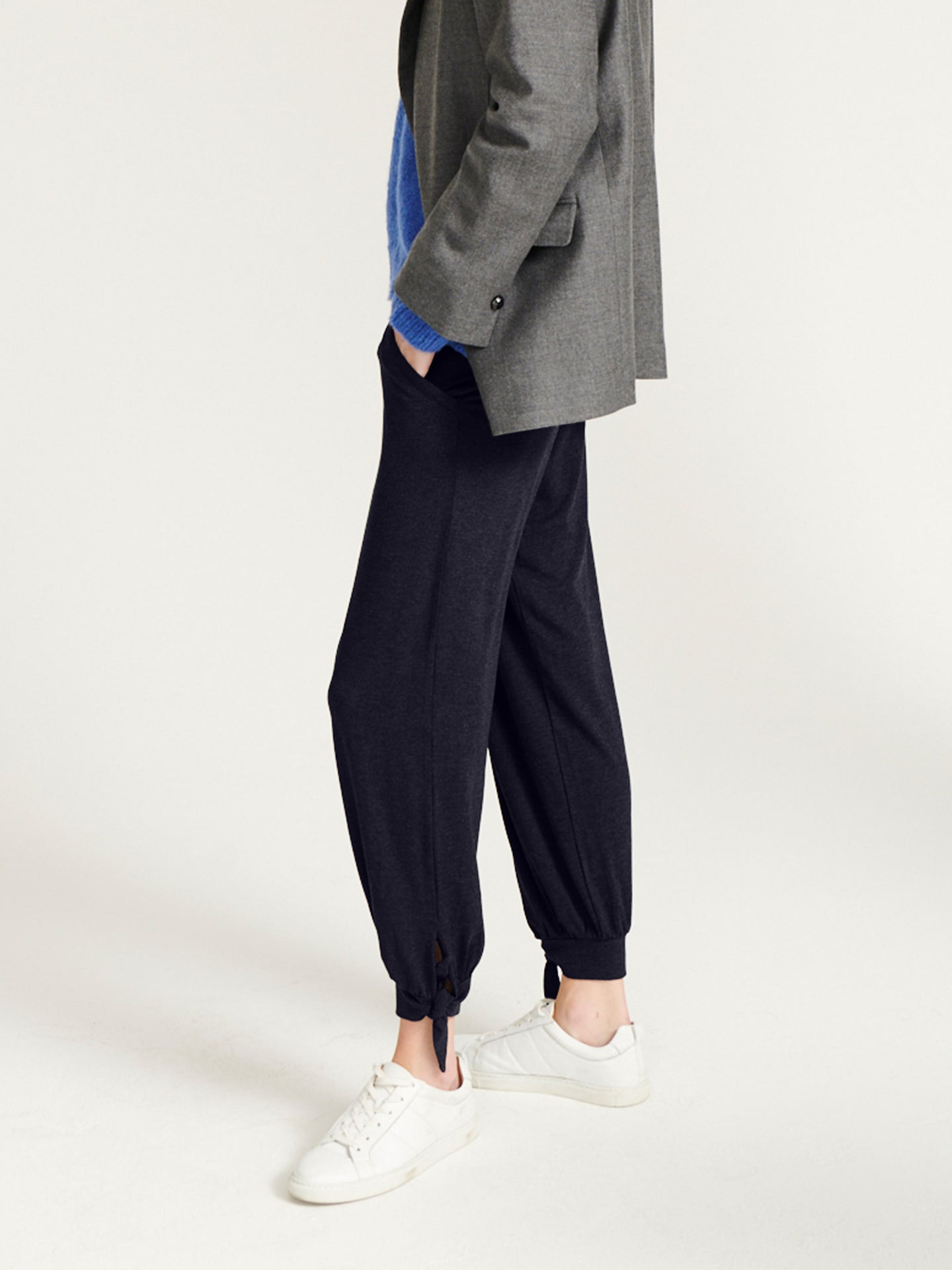 Anmari jersey ankle tie pant
