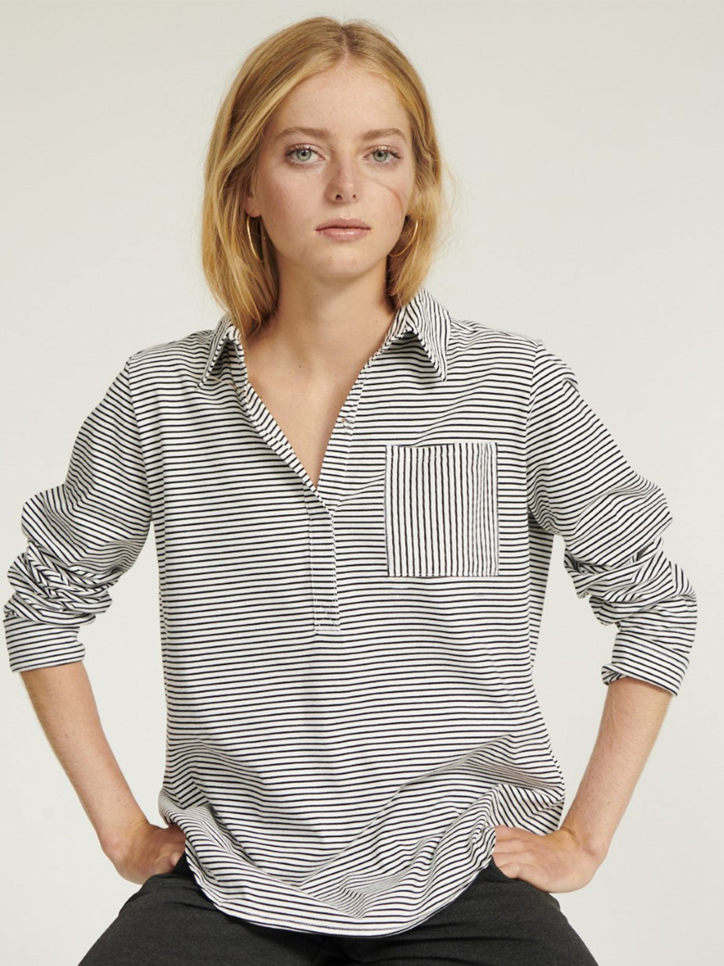 Indie stripe shirt