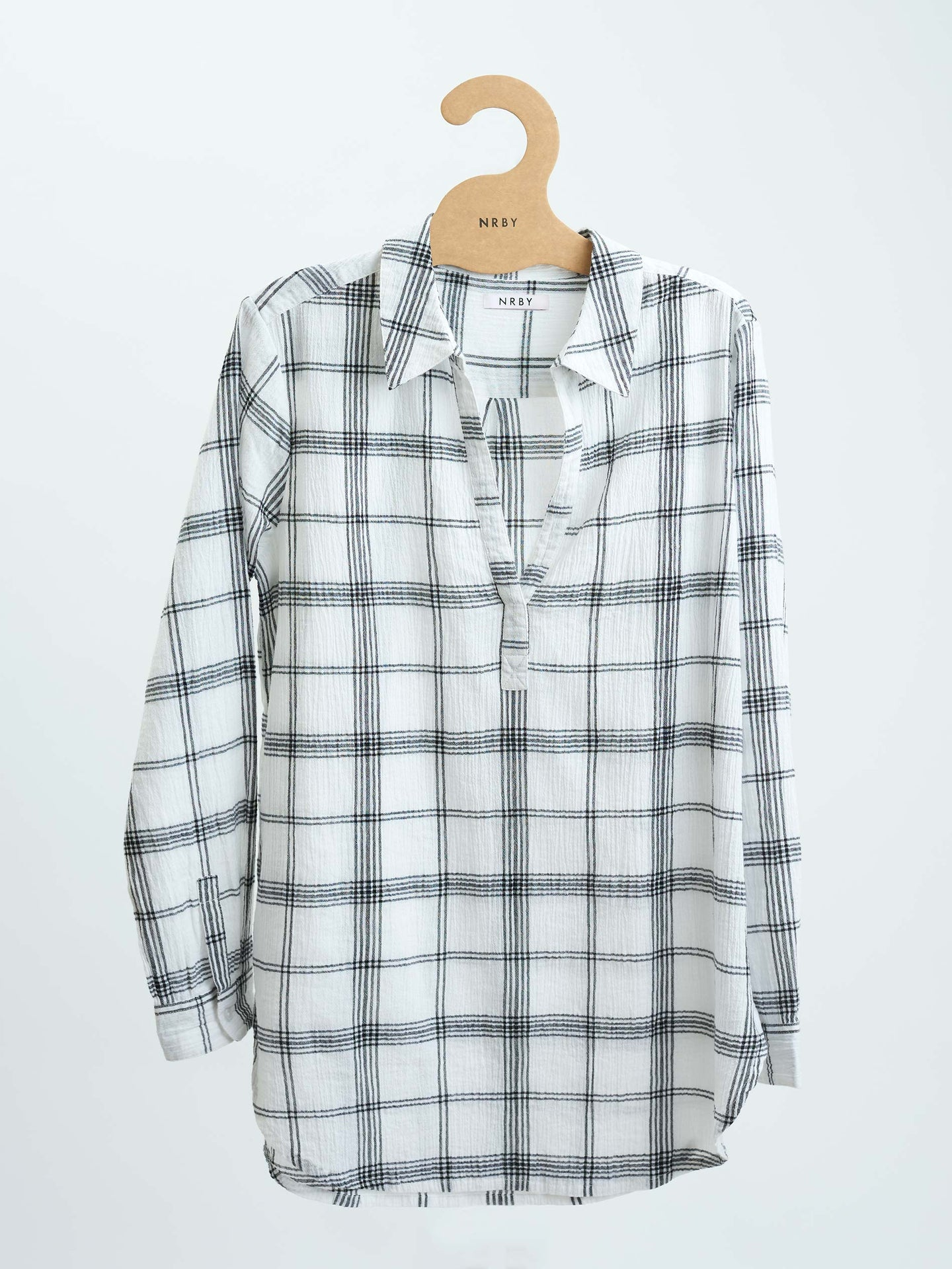 Chrissie crinkle cotton shirt