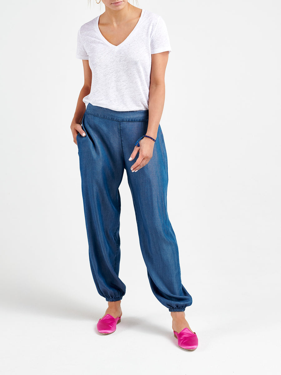 Madison tencel harem pant
