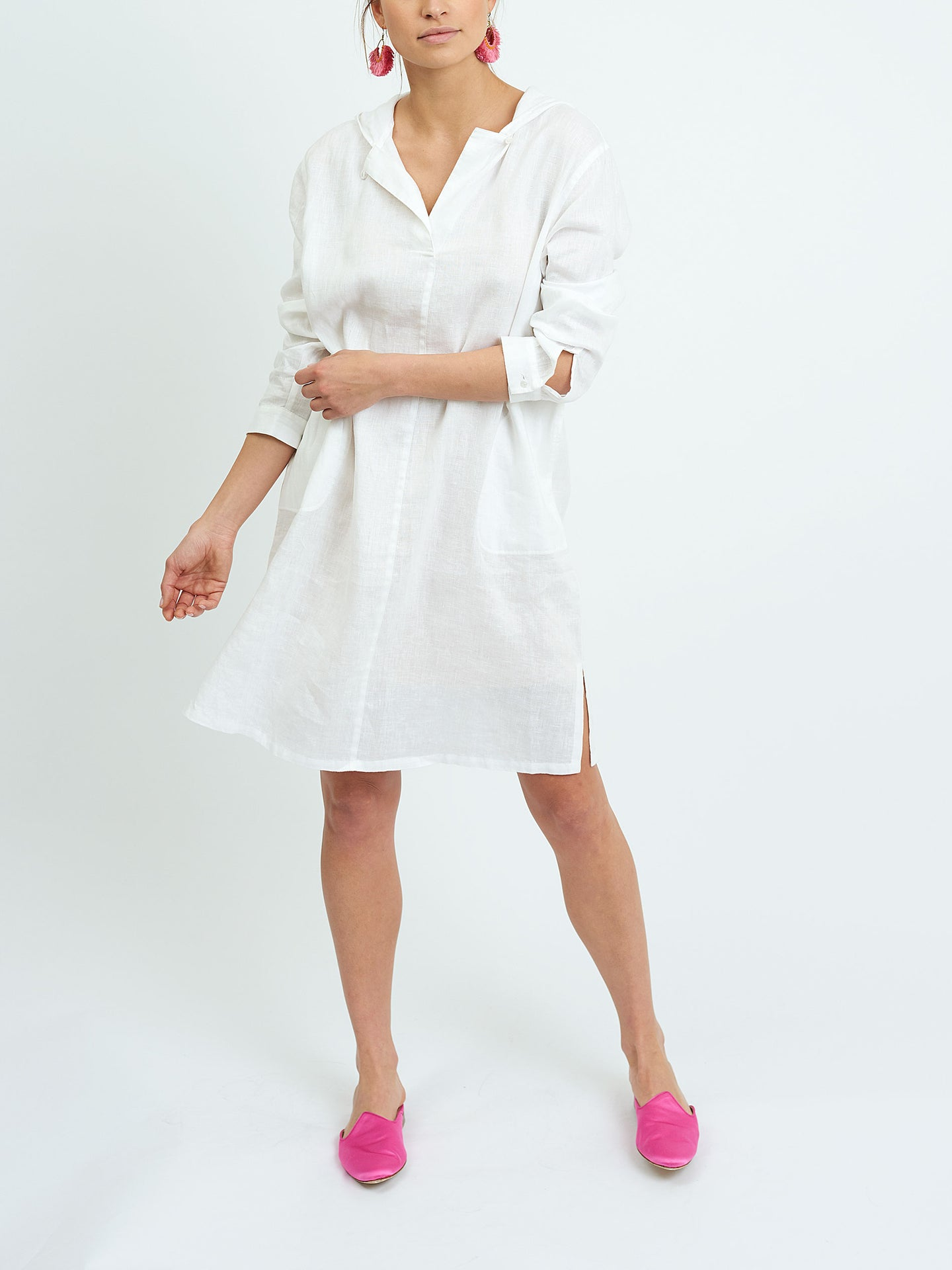 Sophie hooded short dress
