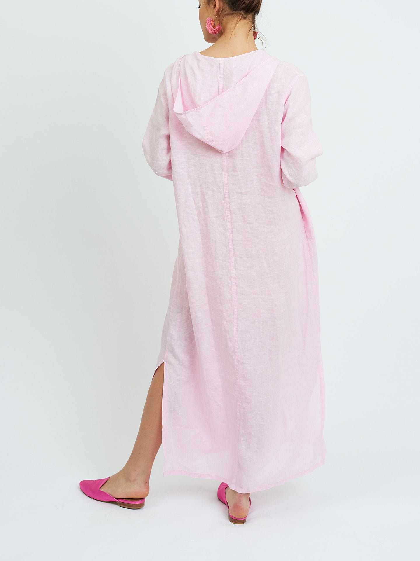 Sophie hooded maxi dress