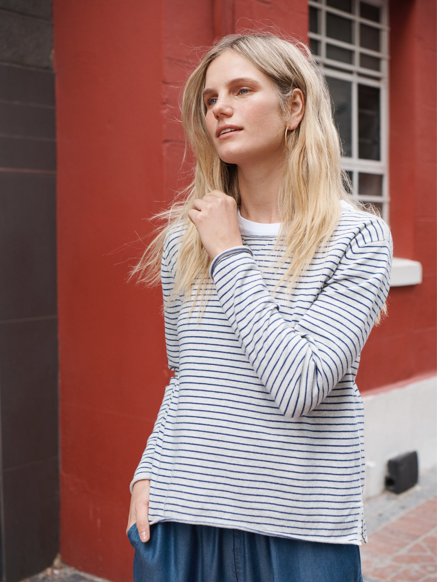 Agnes stripe sweater