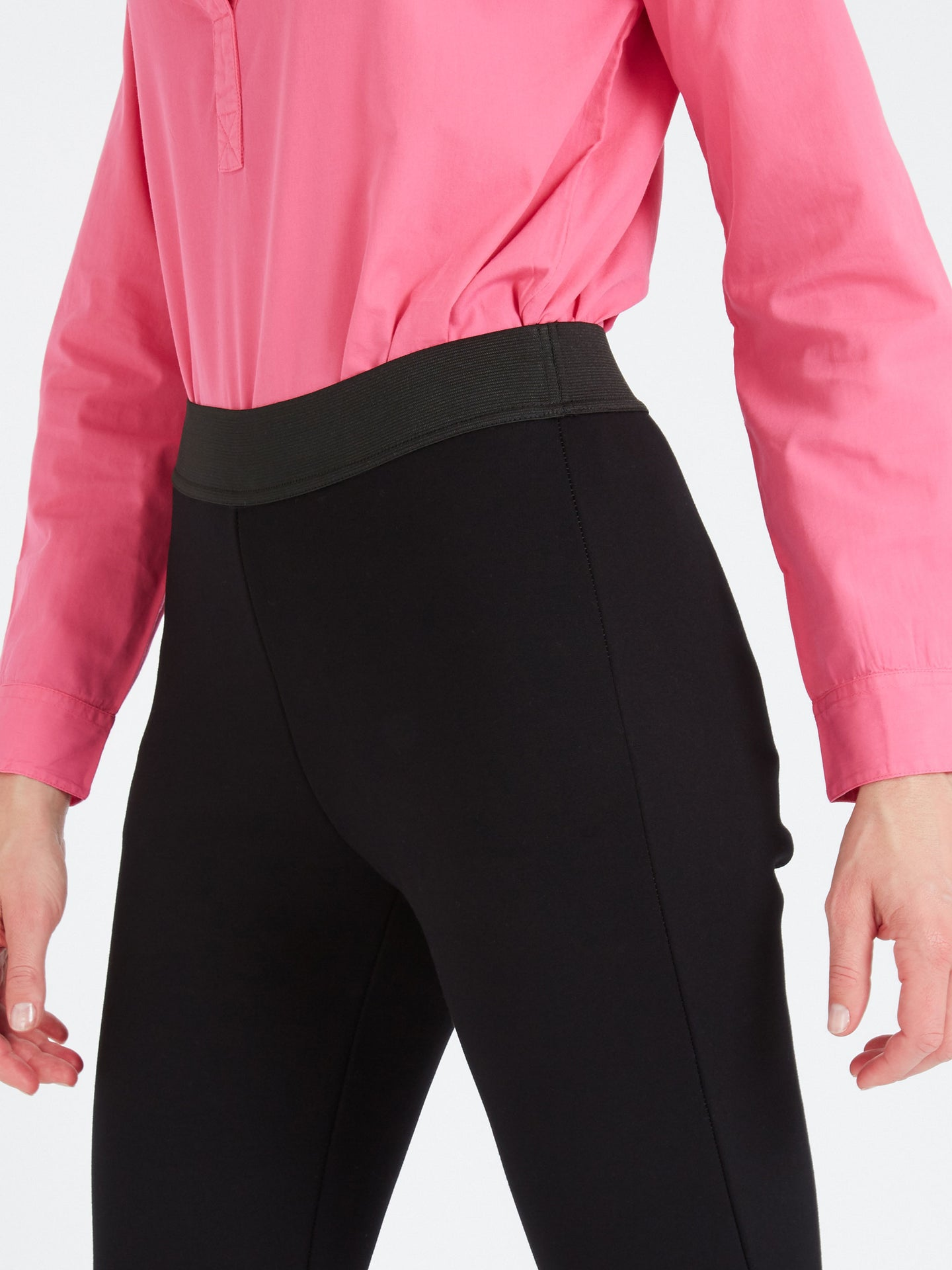 Audrey Stretch Trouser Black