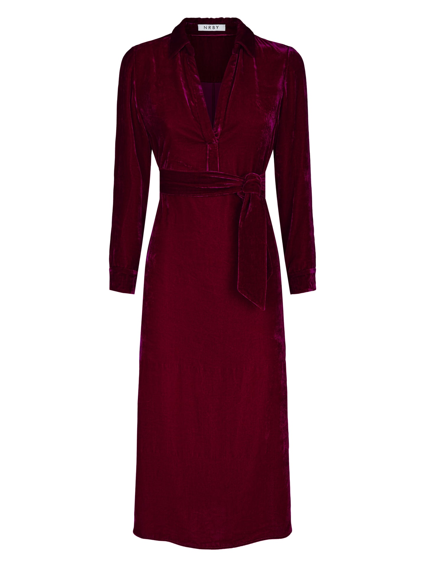 Chrissie velvet maxi dress