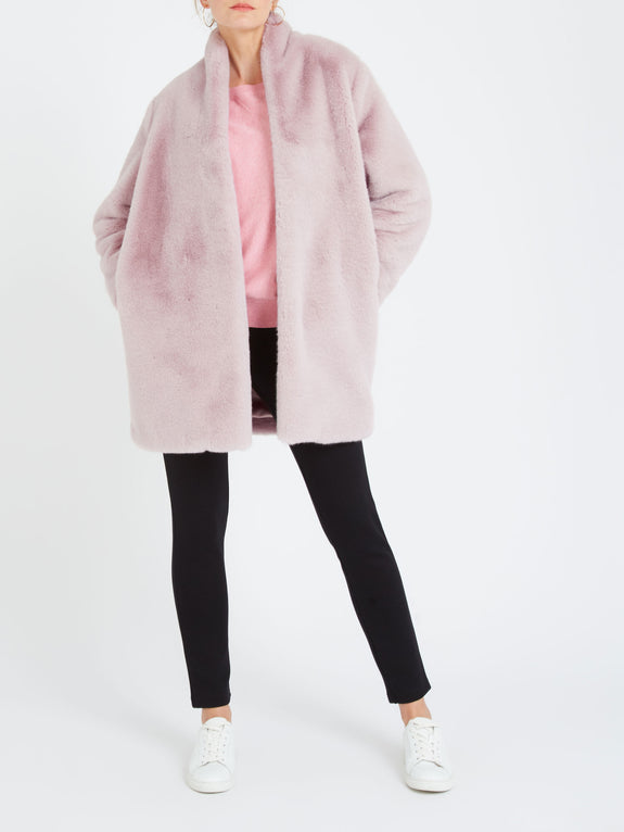 Davina faux fur 3/4 coat