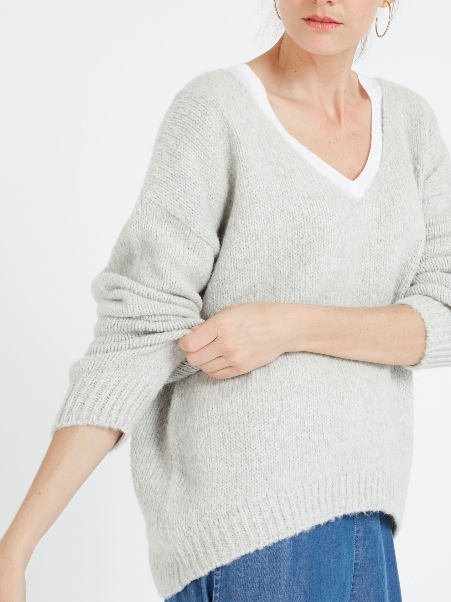 Millie alpaca blend sweater