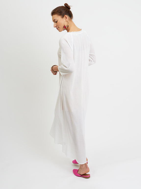 Rosie cheesecloth maxi
