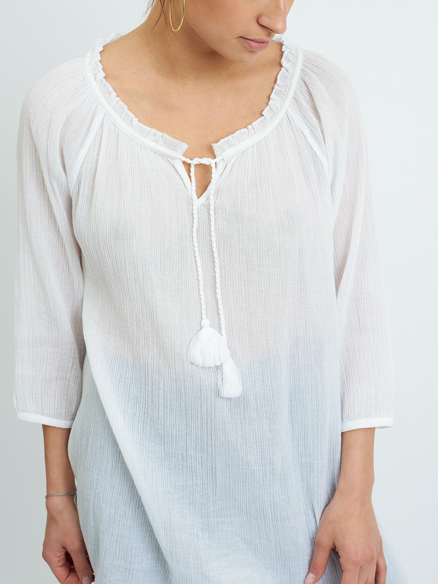 Rosie cheesecloth blouse