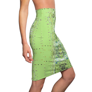 Fiji Islands #0010 (High Waist Skirt)
