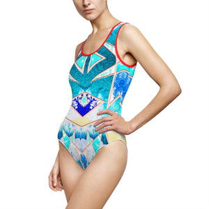 Fiji Islands #0004 (One Piece Swim Suit)