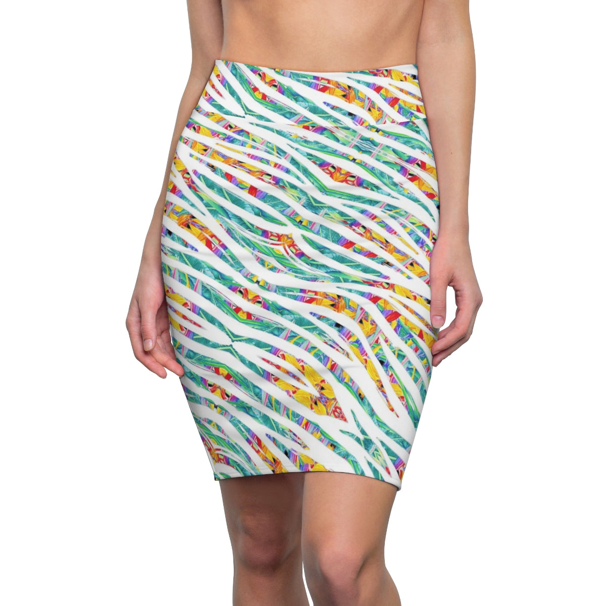 Fiji Islands #0005 (High Waist Skirt)
