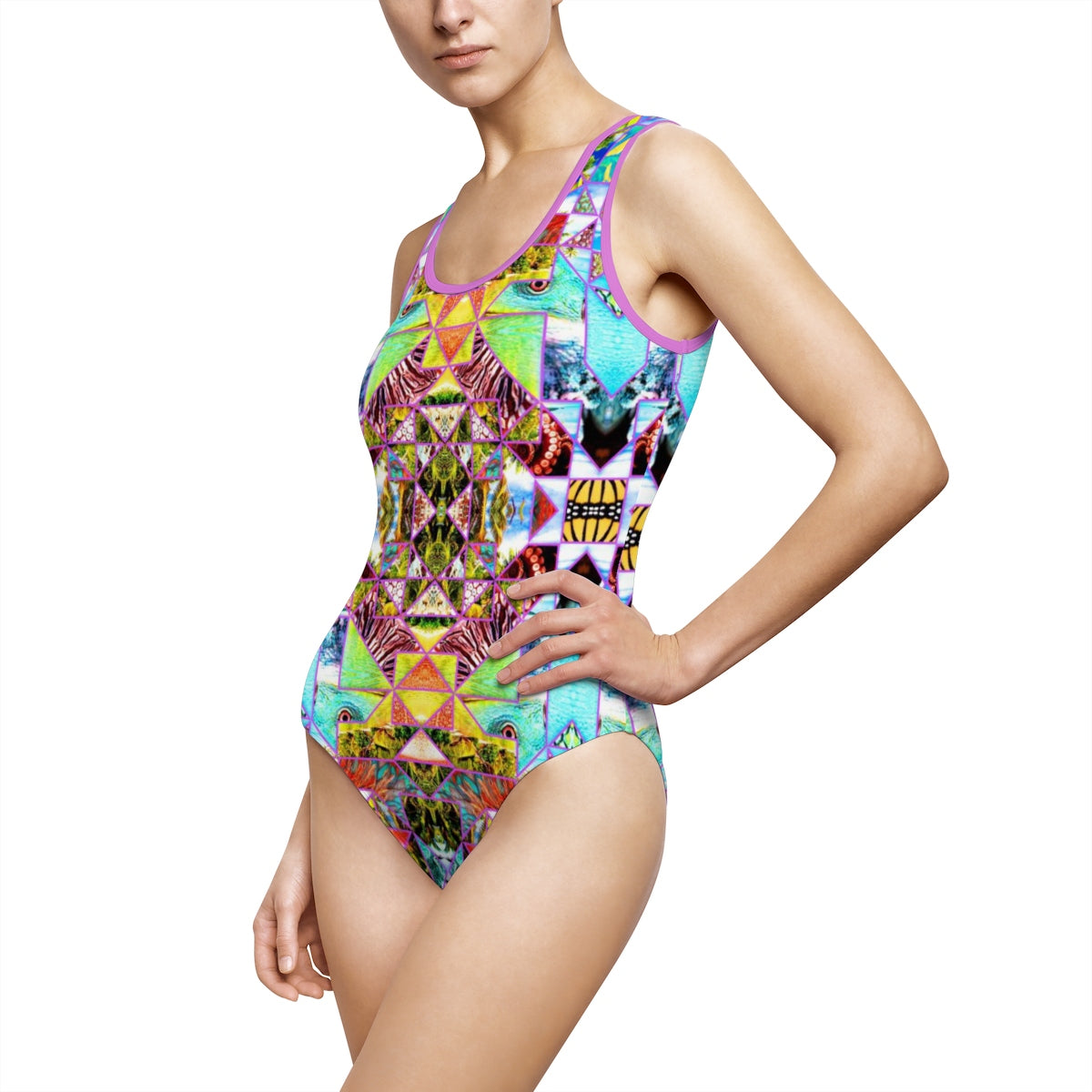 Fiji Islands #0002 (One Piece Swimwear)