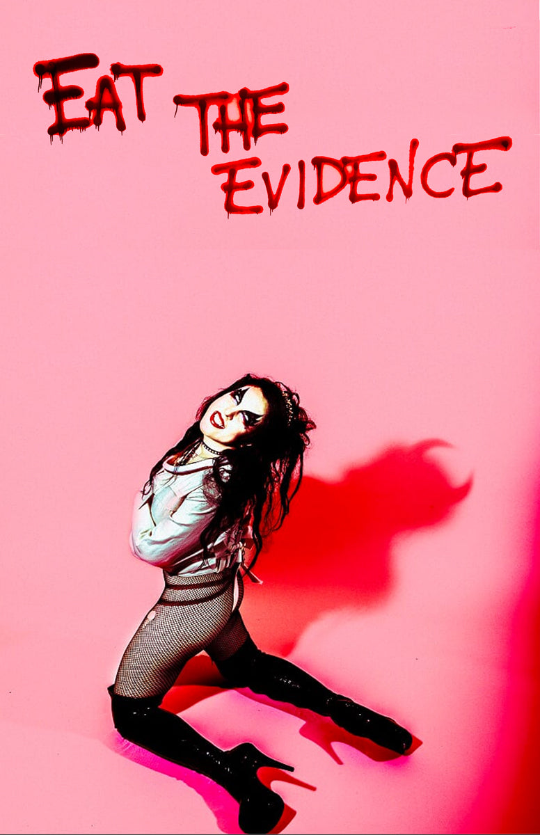 Eat The Evidence - Pink Devil Poster