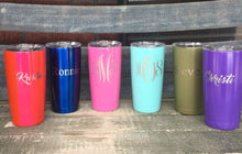 Load image into Gallery viewer, 20 oz laser engraved and Powder Coated YETI,RTIC,Ozark