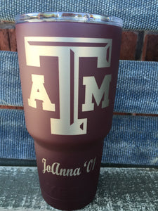 Special listing for 30oz a&m cup