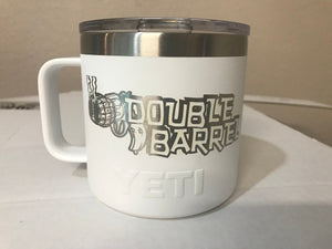 Pre-Coated YETI 14 oz MUG  with laser engraved monogram or image
