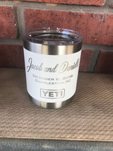Load image into Gallery viewer, Pre-Coated YETI 10oz Lowball with laser engraved monogram or image
