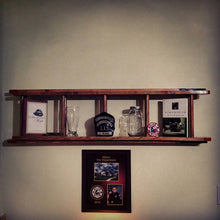 Load image into Gallery viewer, Wood Fire Sevice Ladder replica Shelf.