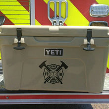 Load image into Gallery viewer, YETI Cooler personalized decals.
